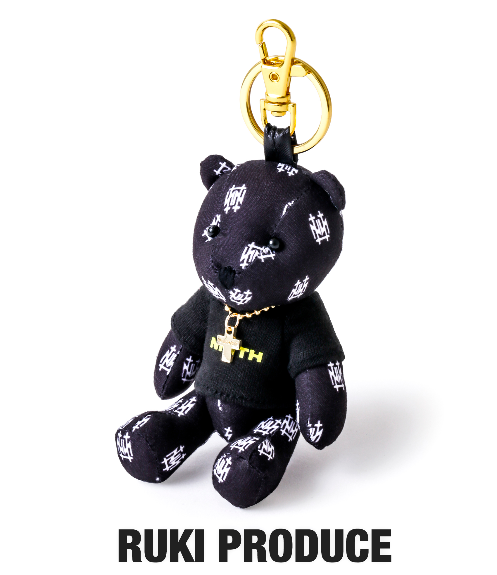 BEAR KEY RING (RUKI PRODUCE)