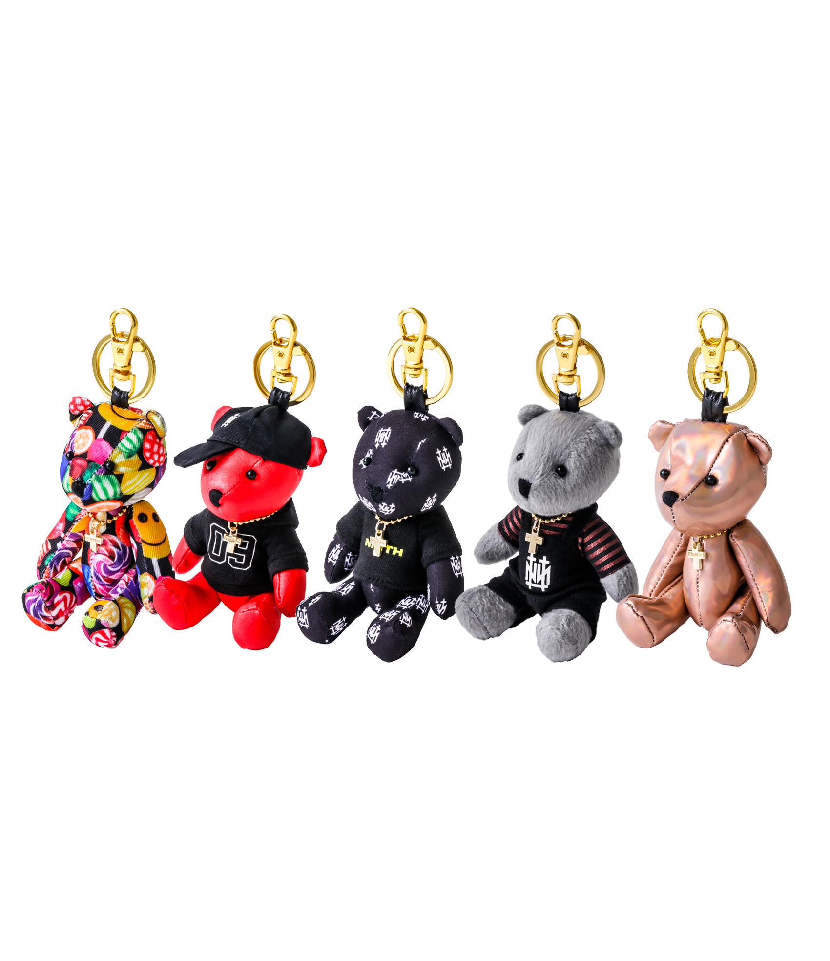 BEAR KEY RING (AOI PRODUCE)