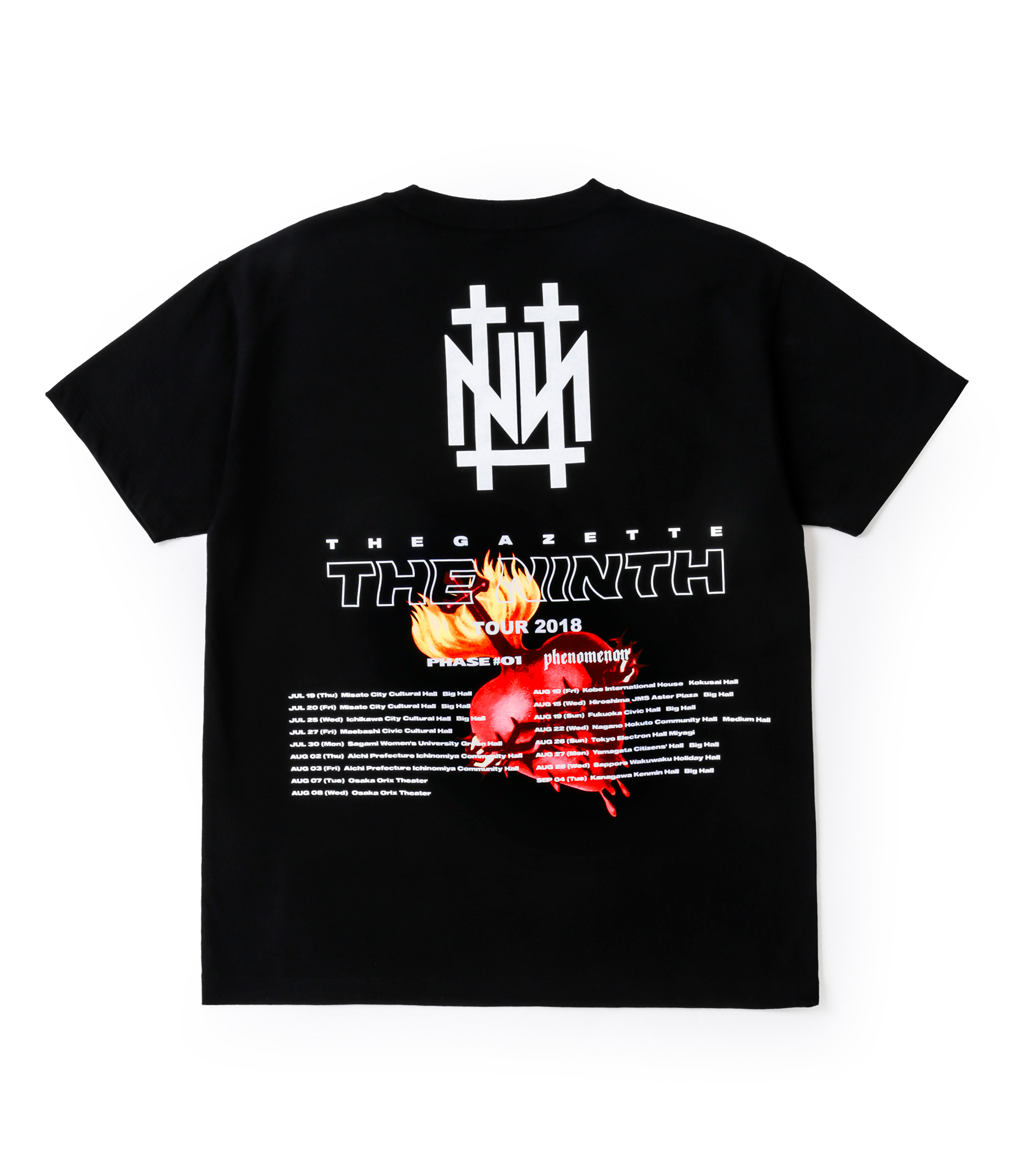 NINTH TOUR TEE / BLK