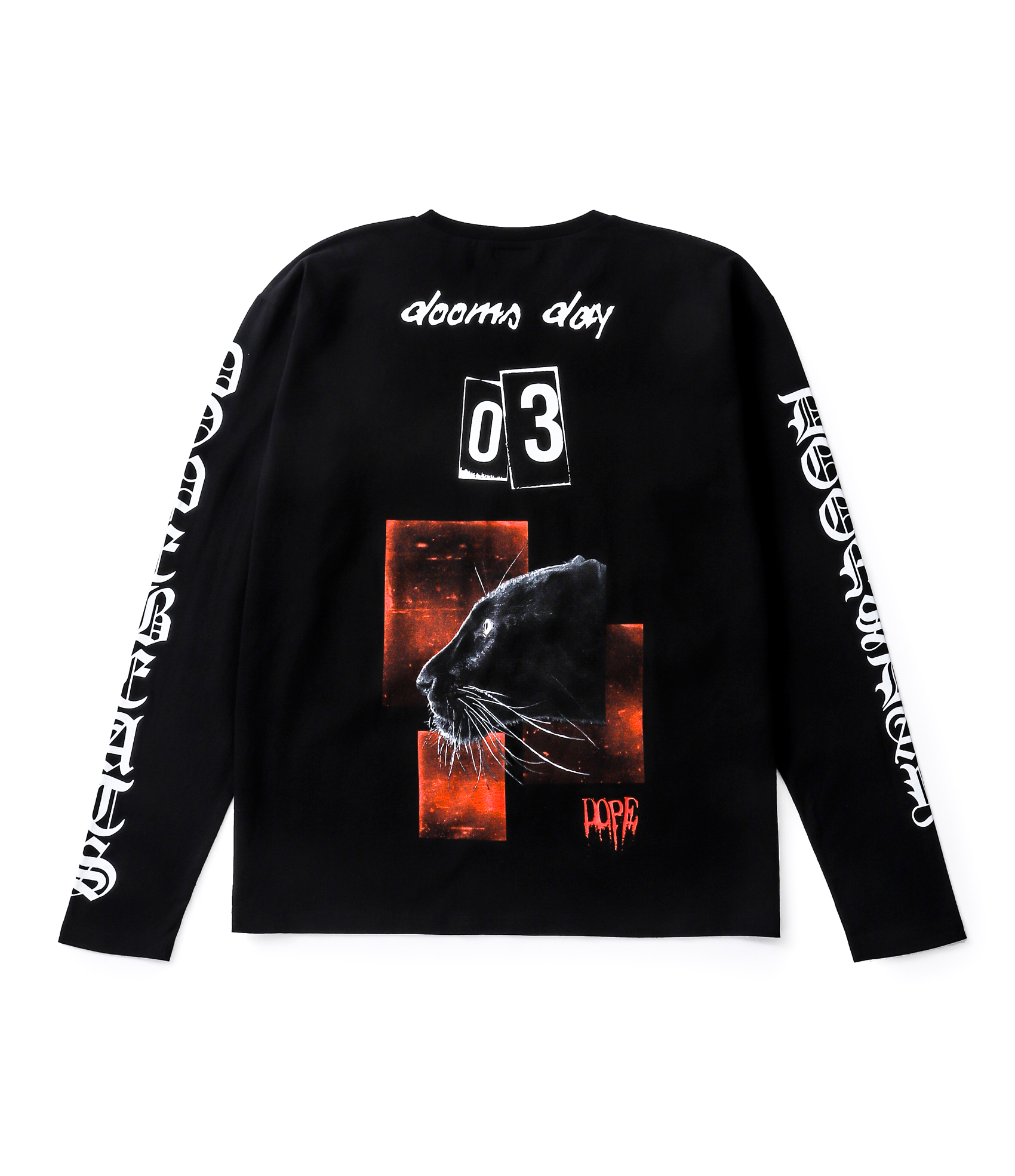URUHA produce LONG SLEEVE TEE