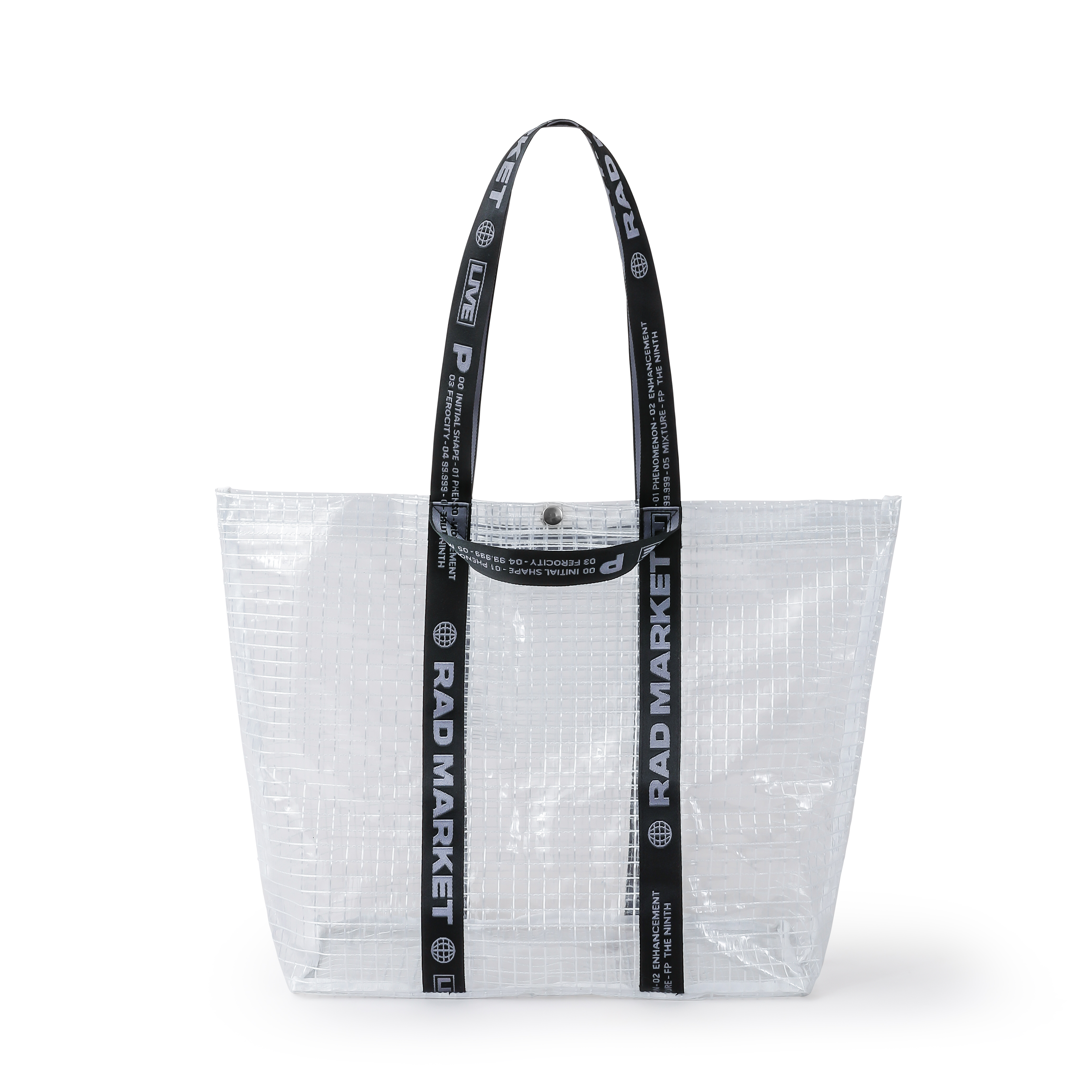 JACQUARD TAPE SHOP BAG