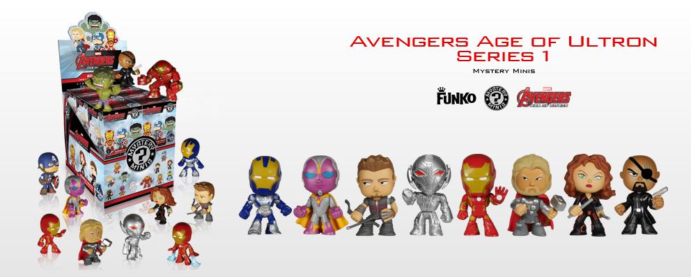 Marvel Avengers Age of Ultron Mystery Minis Blind Mistery Box Funko