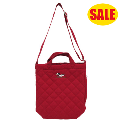 PEANUTS×ROOTOTE トール 2WAYバッグ キルト(Red)