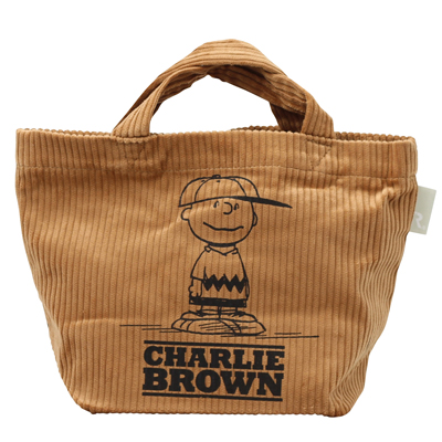 PEANUTS×ROOTOTE ベビールー トートバッグ (Brown)