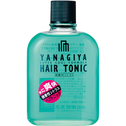 YANAGIYA Hair Tonic <Subtle citrus fragrance>