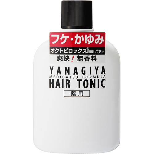 YANAGIYA Medicated Hair Tonic <For dandruff and itchiness>