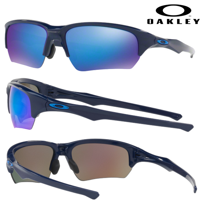 即日出荷 OAKLEY オークリー サングラス FLAK BETA (ASIAN FIT) SAPPHIRE IRIDIUM NAVY OO9372-03 oak17fw oar