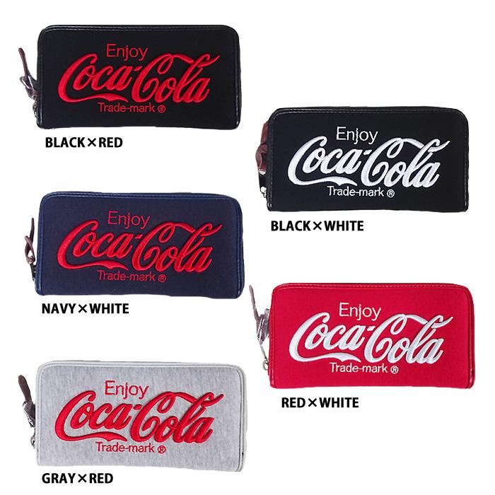 45baf045248b 即日出荷 イーカム MLB 長財布 コカ・コーラ Coca-Cola ウォレットチェーン付き COK