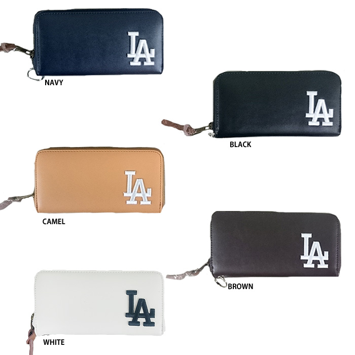 33190a7d0794 即日出荷 イーカム MLB 長財布 ロサンゼルスドジャース LA-1406P-01