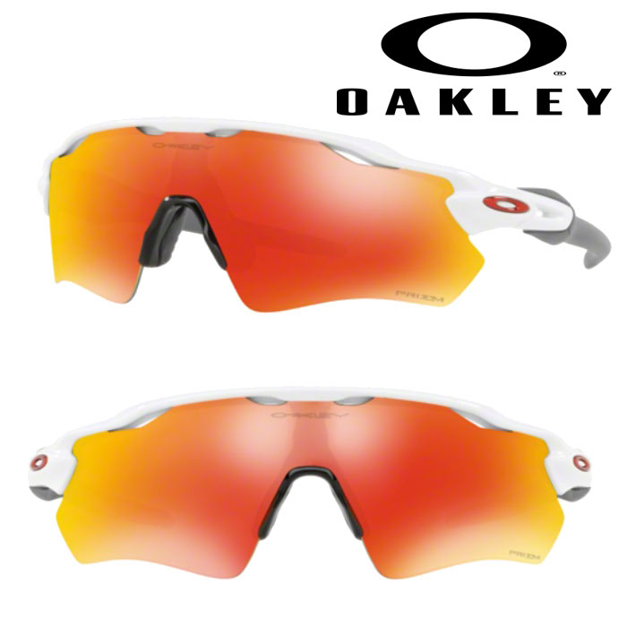 即日出荷 OAKLEY オークリー サングラス RADAR EV PATH(USサイズ) PRIZM RUBY POLISHED WHITE OO9208-7238 oak18fw