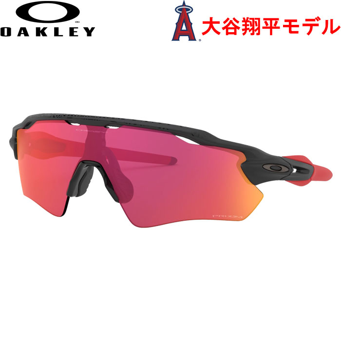 即日出荷 OAKLEY オークリー サングラス 大谷モデル Radar EV Path Shohei Ohtani Collection PRIZM FIELD MATTE BLACK OO9208-A438 oak20fw