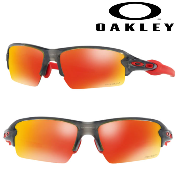 即日出荷 OAKLEY オークリー サングラス FLAK 2.0 (ASIA FIT) PRIZM RUBY GREY SMOKY OO9271-3061 oak18fw