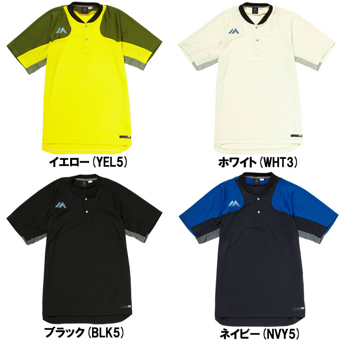 マジェスティック 半袖 Tシャツ Authentic Tech 2button Traning SS Tee XM01-MAJ-0023 maj18ss