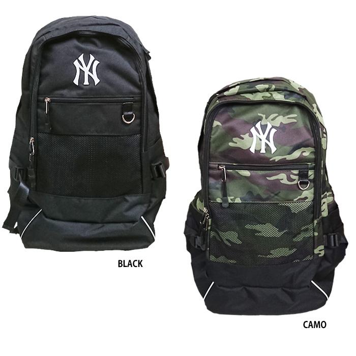 774d781e3df4 即日出荷 イーカム MLB バックパック デイパック ニューヨークヤンキース YK-MBBK142