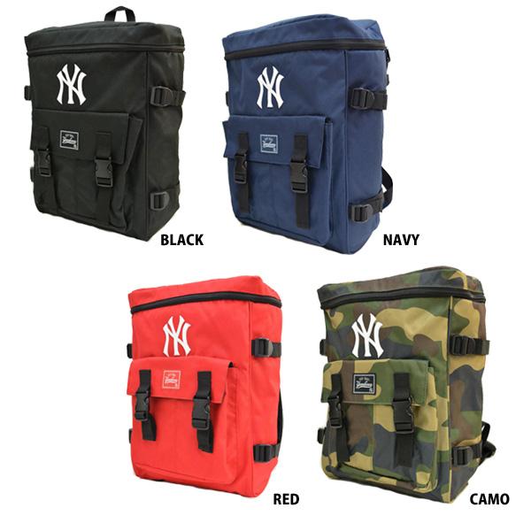 da58d9f9b1a4 イーカム MLB バックパック 600Dスクエアリュック ニューヨークヤンキース YK-MBBK60