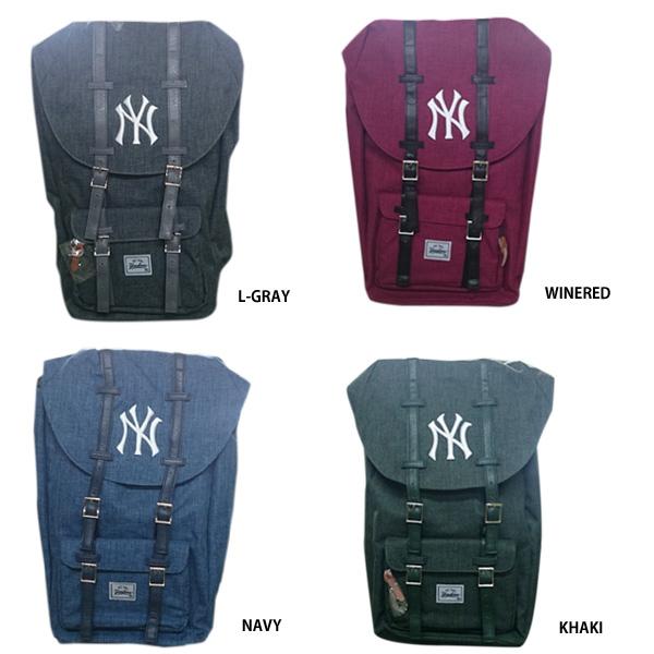 047412bb14fc イーカム MLB バックパック フラップリュック ニューヨークヤンキース YK-MBBK64