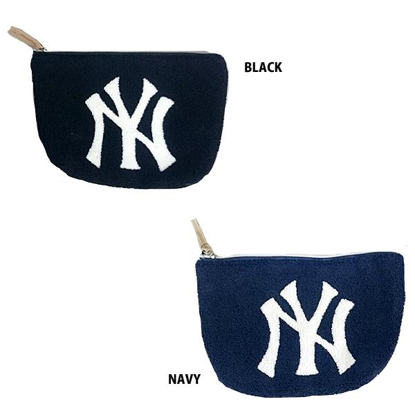 14b29da486de イーカム MLB クラッチバック(小) ポーチ ニューヨークヤンキース YK-PCH02
