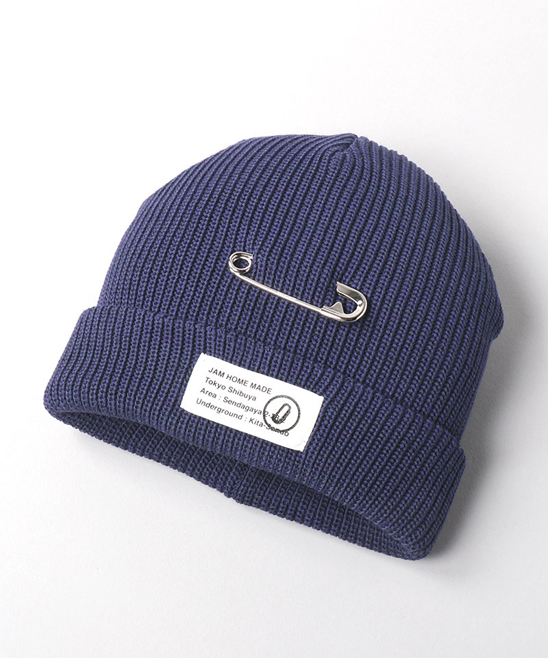 JAM HOME MADE x CA4LA JAM SHOP TURN KNIT CAP