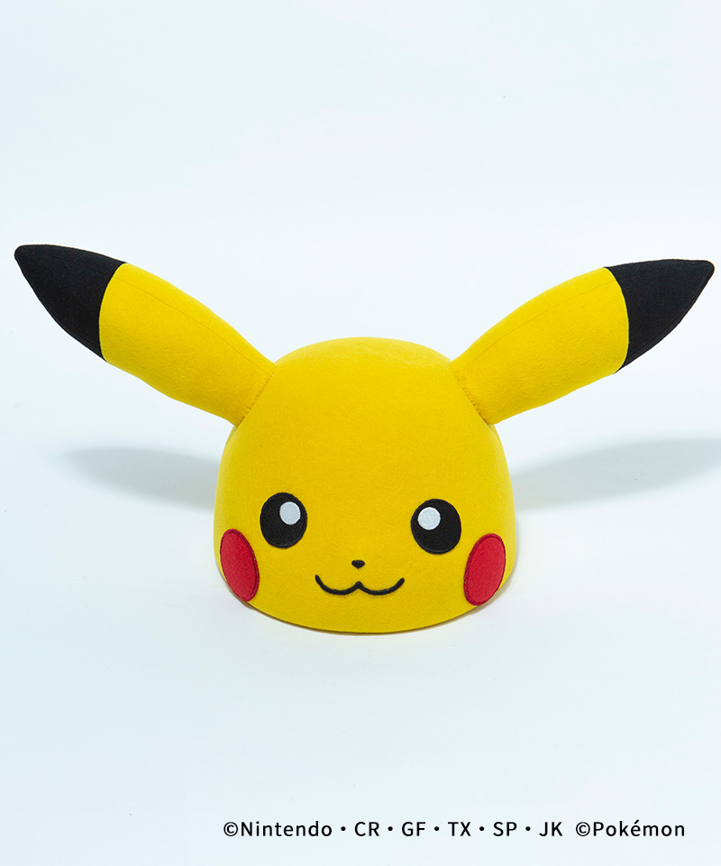 CA4LA FIND POCKET MONSTERS PIKACHU FACE HAT