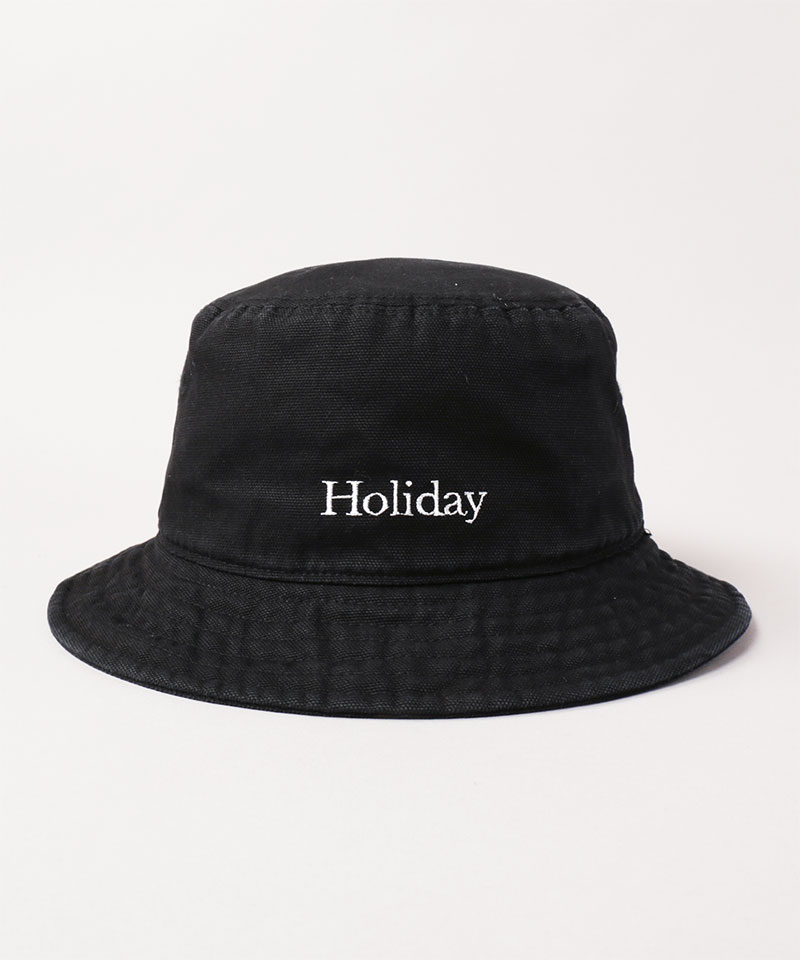 HOLIDAY x CA4LA WASH BUCKET HAT