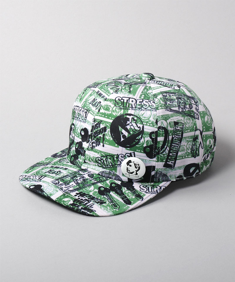 18 ONE DOLLAR PATTERN CAP SS