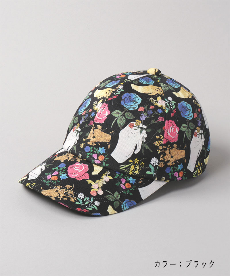 A GOLD BOOK BY ANDY WARHOL PATTERN CAP