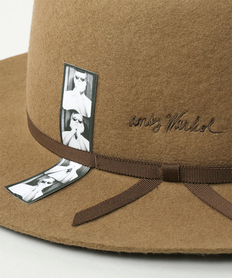 ANDY WARHOL PHOTOBOOTH & LOGO OPEN CROWN HAT