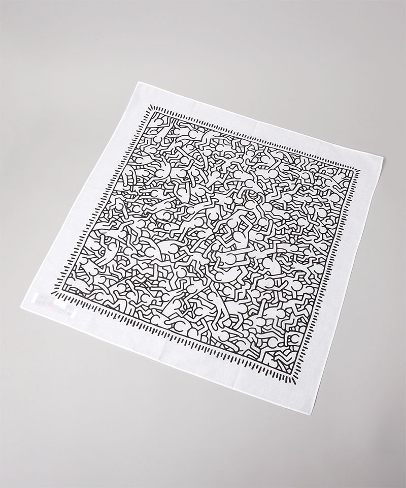 Keith Haring SCARF1
