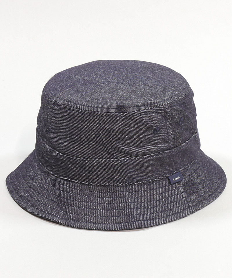 WASHED DENIM STAND HAT