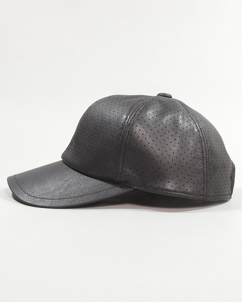 FAKE LEATHER LL CAP