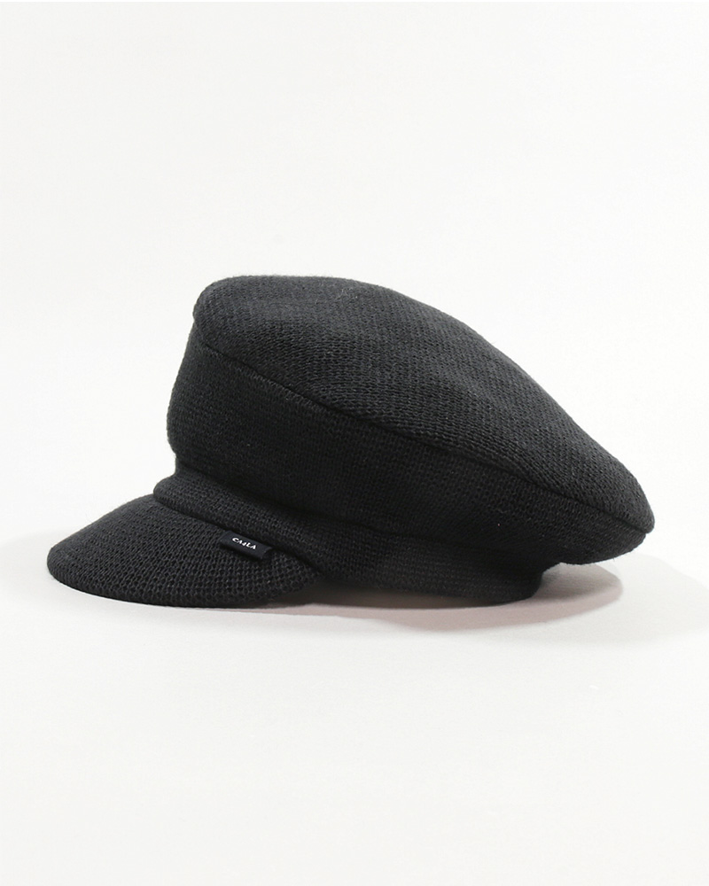 WASHED KNIT MARINE CAP