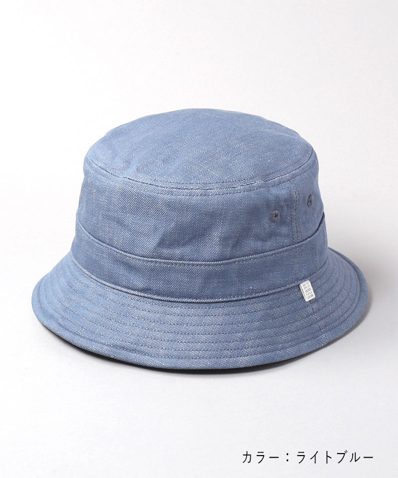 WASHED DENIM STAND HAT 2