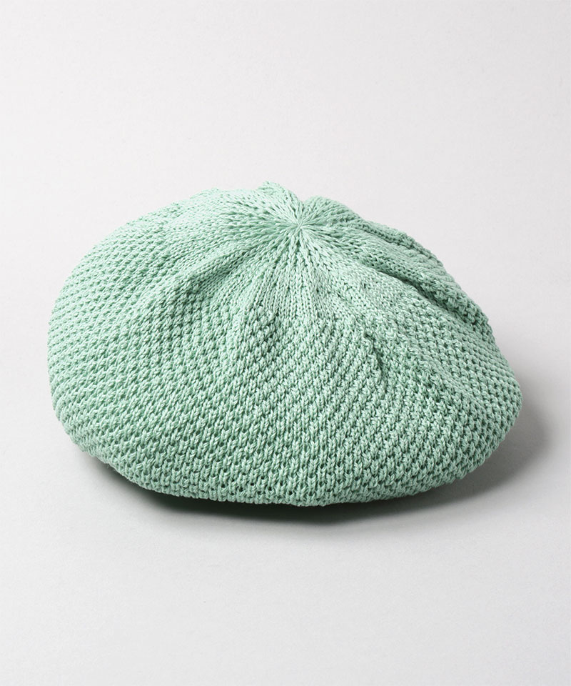 WASHED NUBBY KNIT BERET AC 2
