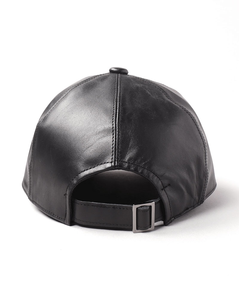 LEATHER BB CAP 6