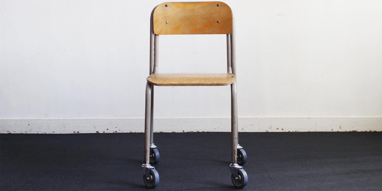 【sold out】Sampling Furniture re-school CHAIR(USED)