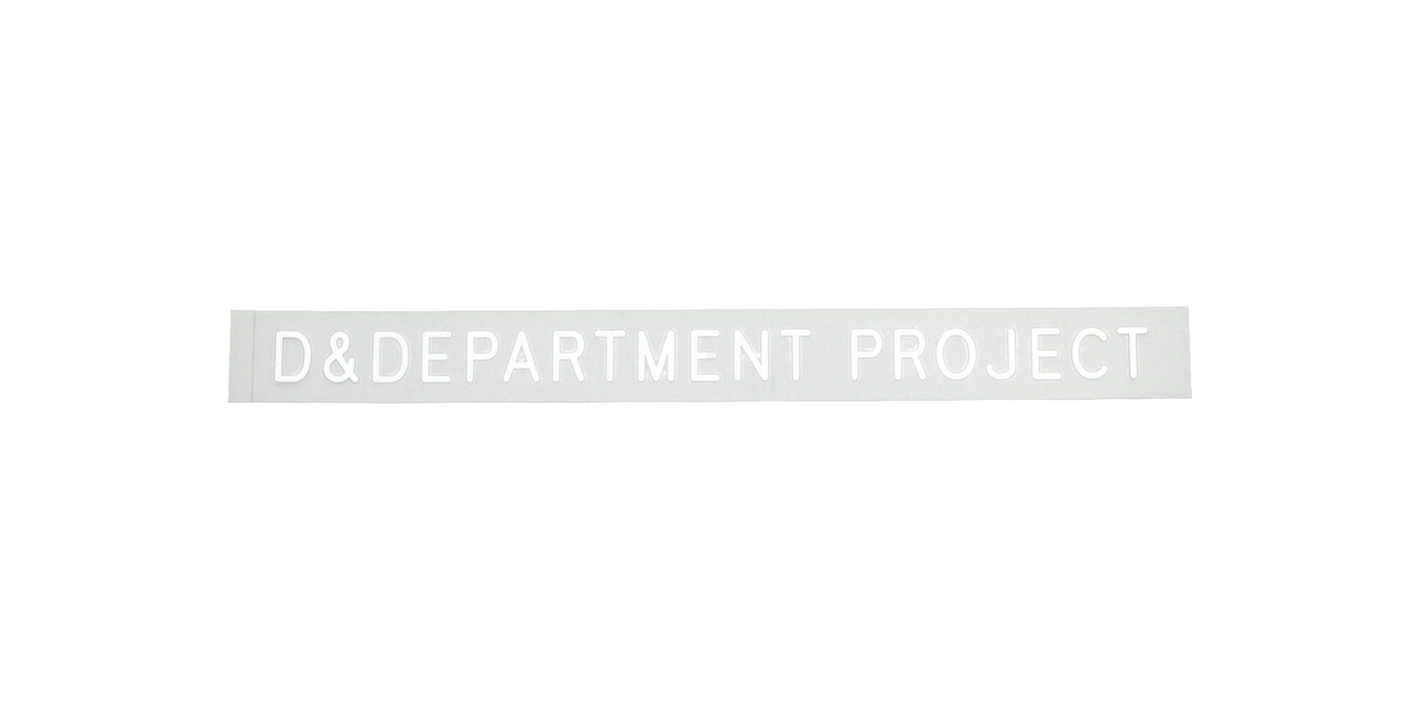 D&DEPARTMENT PROJECTステッカー