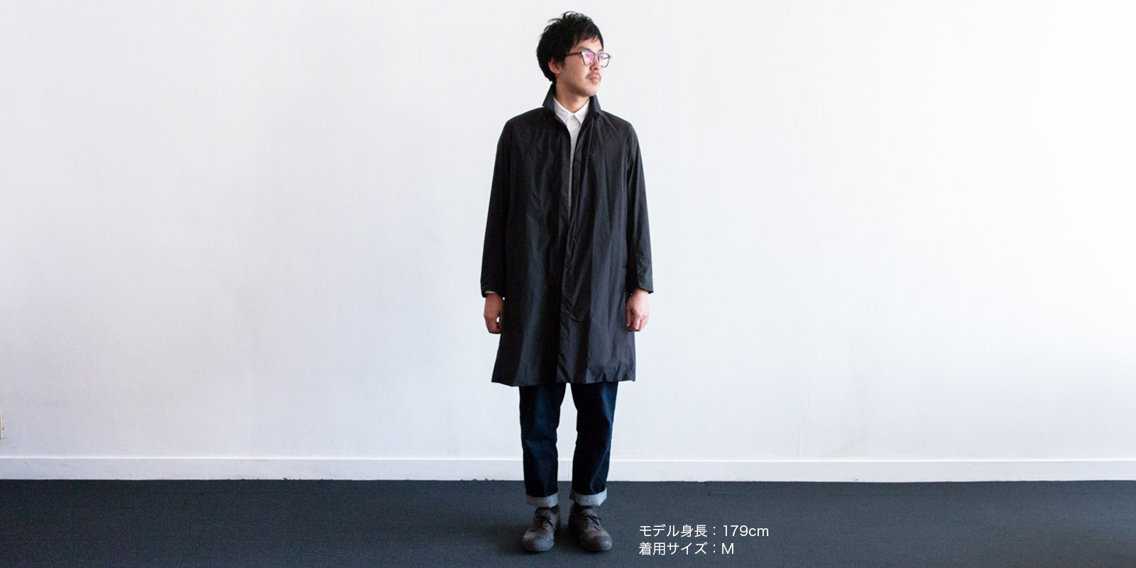 d 003 TRAVEL COAT・M