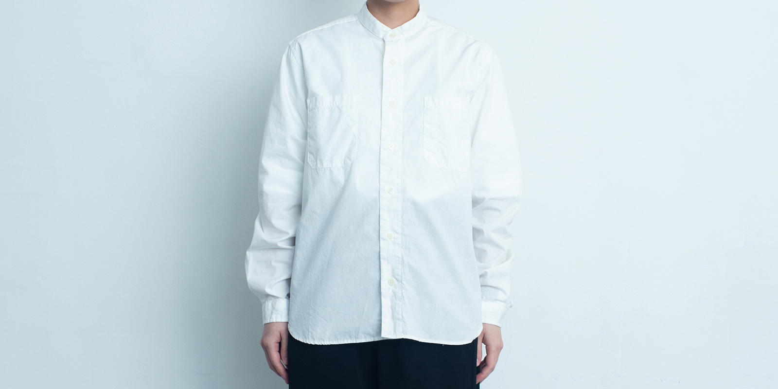 d 206 STAND SHIRT・WHITE・XL