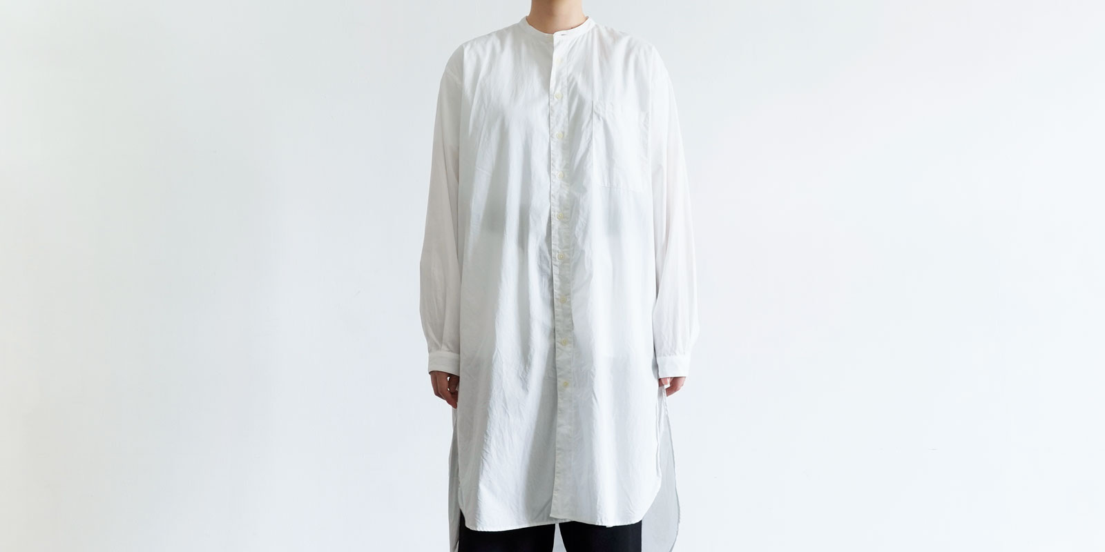 d 208 LONG SHIRT・WHITE・M