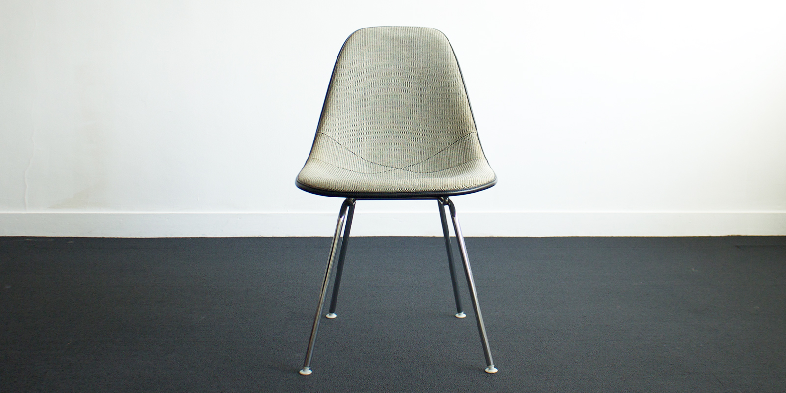 【sold out】Herman Miller シェルサイドチェア(Hベース)