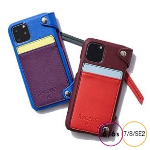 [エーシーン]Crazy color case for iPhone 8/7/6s/6/SE2