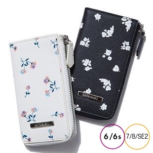 [サミールナスリ]Flower Print Mobile CaseCase for iPhone 8/7/6s/6/SE2