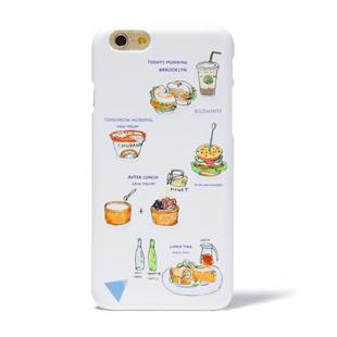 BLUEWHITE LOCAL FOOD MAT Cream for iPhone 8/7