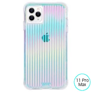 [ケースメイト]Case-Mate Max Tough Groove - Iridescent for iPhone 11 Pro Max