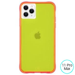 [ケースメイト]Case-Mate Tough NEON - Green/Pink for iPhone 11 Pro Max