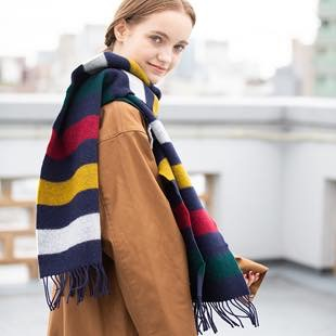 [ハドソンズベイ]HSBC EVERYDAY WOOL SCARVES