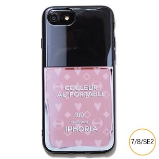 [アイフォリア]Nailpolish Coloeur Au Portable Nude Pattern for iPhone 8/7/SE2