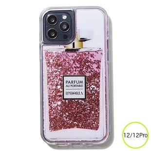[アイフォリア]Parfum au Portable Red Glitter for iPhone 12/12 Pro
