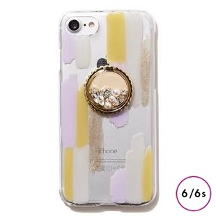 [ジーニーバイエル]Art×Bijou iPhone case(Lavender MIX) for iPhone 6s/6