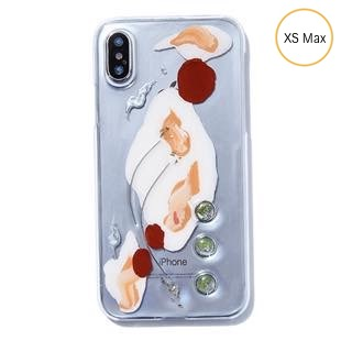 [ファッジ×カルキ]【コラボ】karuki phonecase sunsetorange for iPhone XS MAX